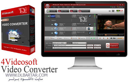 دانلود نرم افزار 4Videosoft Video Converter Ultimate 6.0.18
