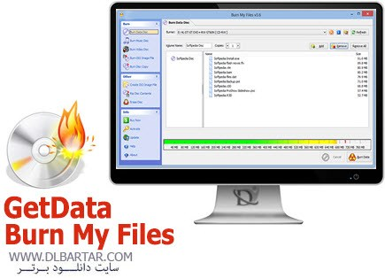 GetData Burn My Files