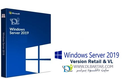 دانلود Windows Server 2019 Version 1809 Build 17763.379 Retail & VL ویندوز سرور 2019