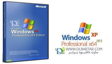 دانلود ویندوز Windows XP Professional x64 Edition SP2 February 2014
